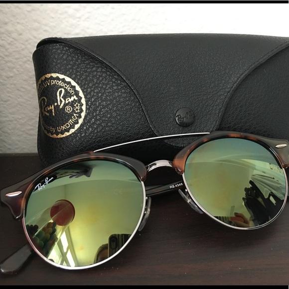 674a815a6a ... Ray-Ban Clubround Double Bridge Sunglasses. M 5a5e9bc5331627db35113418